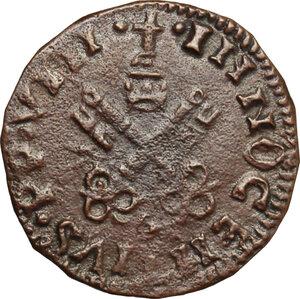 obverse: Italy. .  Innocenzo VIII (1484-1492). Cavallo, Aquila mint