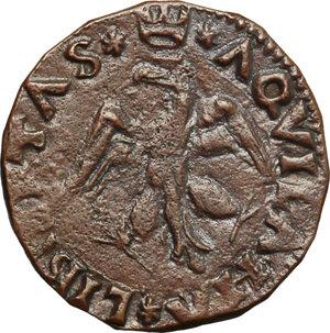 reverse: Italy. .  Innocenzo VIII (1484-1492). Cavallo, Aquila mint