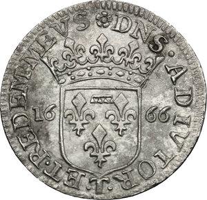 reverse: Italy..  Livia Centurioni Oltremarini (1616-1688), moglie di Filippo Spinola. AR Luigino 1666, Fosdinovo mint