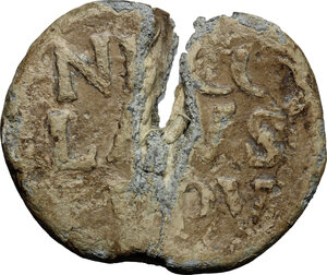 obverse: Italy .  Niccolò V (1447-1455), Tommaso Parentuccelli. PB Bulla, Rome mint