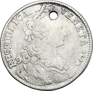obverse: Italy .  Paolo Renier (1779-1789).. AR 1/4 Taler, Venice mint, 1781