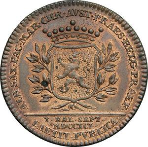 reverse: Austria.  Leopold II (1790-1792).. AE Medal, Vienna mint, 1791