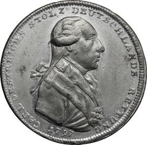 obverse: Austria.  Erzherzog Karl (1771-1847).. Jeton 1797