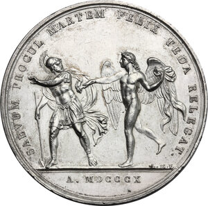 reverse: France.  Napoleon I (1805-1814), Emperor.. Medal for the marriage of Napoleon I and Maria Luigia di Parma, 1 April 1810