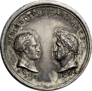 obverse: France.  Louis Philippe I (1830-1848). . AR Medal 1836
