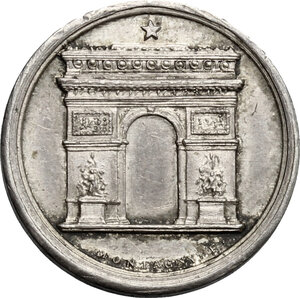 reverse: France.  Louis Philippe I (1830-1848). . AR Medal 1836