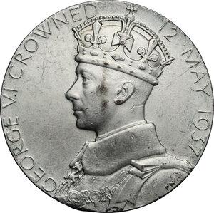 obverse: Great Britain.  George VI (1936-1952).. AR Medal, 1937
