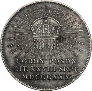 reverse: Hungary.  Franz II/I (1792-1805-1835).. AR Jeton, Pressburg mint, 1830