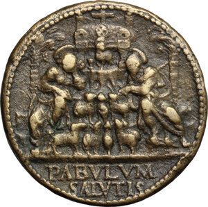 reverse: Italy..  Paolo II (1464-1471), Pietro Barbo. Medal, Rome mint, 1469