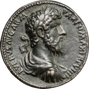 obverse: Italy..  Lucius Verus (161-169).. Cast \Padovanino\