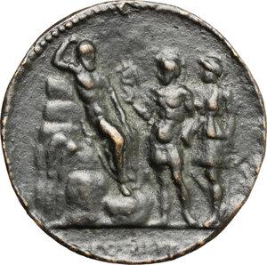 reverse: Italy..  Lucius Verus (161-169).. Cast \Padovanino\