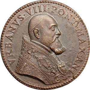 obverse: Italy..  Urban VIII (1623-1644), Maffeo Barberini.. AE Medal, 1623