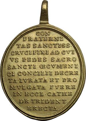 reverse: Italy.. AE Religious Medal, Trento (Trient) mint, XVIII century