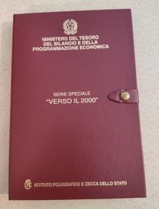 obverse: Italia. 2000. Cofanetto