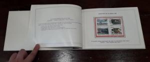 reverse: 1984. Libro Filatelico con i francobolli dell anno 1984. Francobolli nuovi. Vedi foto per dettagli.