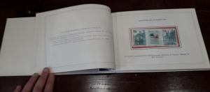 reverse: 1985. Libro Filatelico con i francobolli dell anno 1985. Francobolli nuovi. Vedi foto per dettagli.