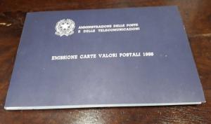 obverse: 1988. Libro Filatelico con i francobolli dell anno 1988. Francobolli nuovi. Vedi foto per dettagli.