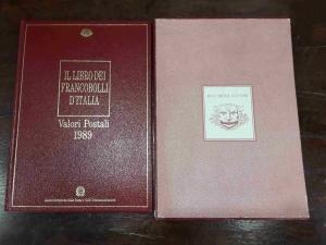 obverse: FR140. IL LIBRO DEI FRANCOBOLLI D'ITALIA 1989 completo
