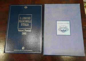 obverse: FR139. IL LIBRO DEI FRANCOBOLLI D'ITALIA 1991 completo.