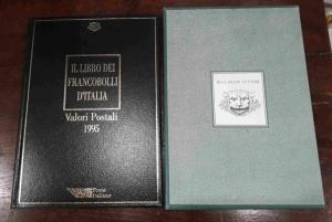 obverse: FR142. IL LIBRO DEI FRANCOBOLLI D'ITALIA 1995 completo.