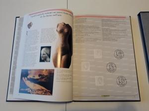reverse: 2002. Libro Filatelico