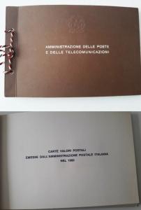 obverse: 1980. Libro Filatelico con i francobolli dell anno 1980. Francobolli nuovi. Vedi foto per dettagli.