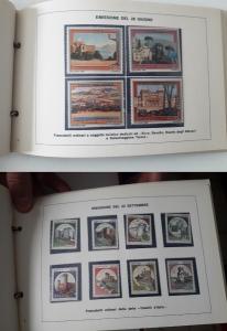reverse: 1980. Libro Filatelico con i francobolli dell anno 1980. Francobolli nuovi. Vedi foto per dettagli.