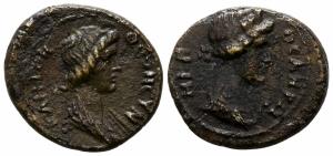 obverse: Senato Romano (I sec. d.C.), Mysia, Pergamon. AE Bronzo (16 mm. - 2.62 gr.). BB. NC.