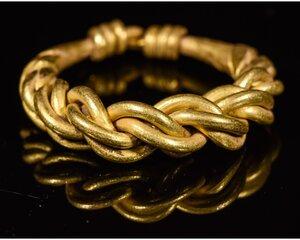 obverse: VIKING GOLD TWISTED RING
