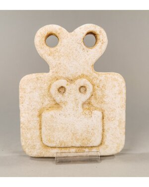 obverse: TELL BRAK ALABASTER EYE IDOL
