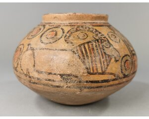 obverse: INDUS VALLEY CULTURE VESSEL WITH IBEX
