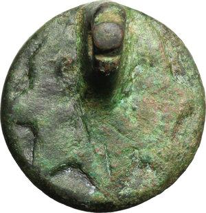 reverse: Sigillo XIV sec. Italia centrale