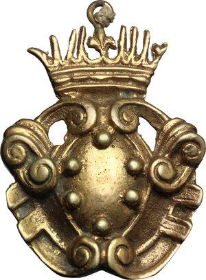 obverse: Stemma Medici sormontato da corona con il giglio di Francia. XVII-XVIII sec