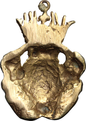 reverse: Stemma Medici sormontato da corona con il giglio di Francia. XVII-XVIII sec