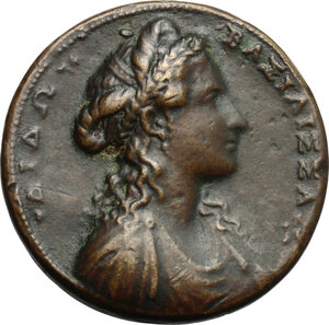 obverse: Didone Regina di Cartagine.. Medaglia