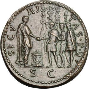 reverse: Otone (69 d.C.). Padovanino, dopo Giovanni da Cavino