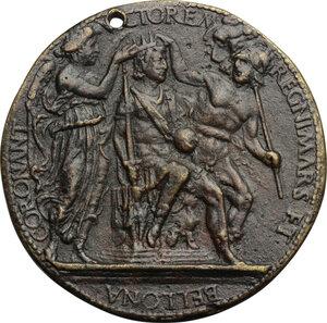 reverse: Alfonso d Aragona (1416-1458). Medaglia
