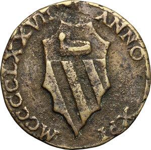 obverse: Alberto Lancino. Medaglia 1477
