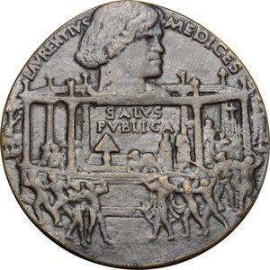 obverse: Lorenzo e Giuliano de  Medici.. Medaglia per la Congiura dei Pazzi