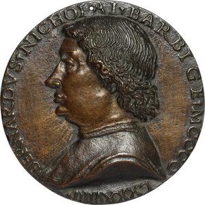 obverse: Bernardo del Barbigia . Medaglia unifacie
