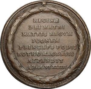 reverse: Maria de  Medici, Regina di Francia (1575-1642).. Medaglia 1644