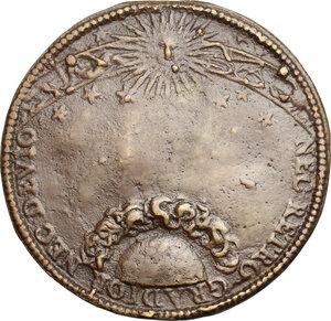 reverse: Carlo I Gonzaga Nevers (1627-1637).. Medaglia 1608