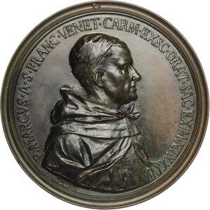 obverse: Giancarlo Rossetti (1712- dopo il 1761), carmelitano con il nome di Marco di San Francesco.. Medaglia 1748 con bordo modanato