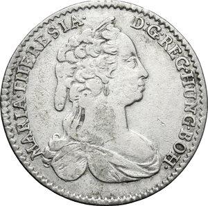 obverse: Austria.  Maria Theresa (1740-1780). 6 kreuzer 1743