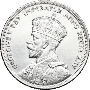 obverse: Canada.  George V (1910-1936).. Dollar 1935