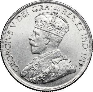 obverse: Canada.  George V (1910-1936).. Dollar 1936
