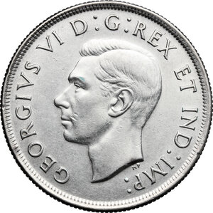 obverse: Canada.  George VI (1936-1952).. Dollar 1937