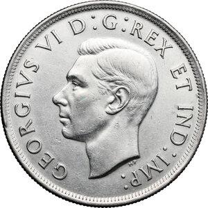 obverse: Canada.  George VI (1936-1952).. Dollar 1938