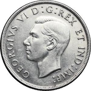 obverse: Canada.  George VI (1936-1952).. Dollar 1945