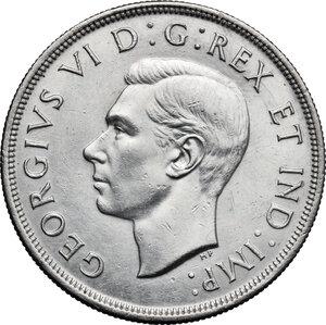 obverse: Canada.  George VI (1936-1952).. Dollar 1947, blunt 7